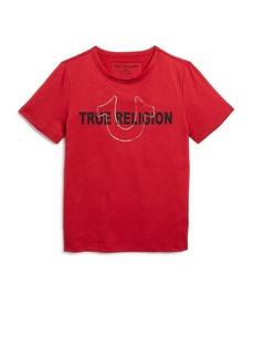 True Religion Boys' Foil Logo Tee - Little Kid, Big Kid