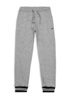 True Religion Boys' French Terry Jogger Pants - Little Kid, Big Kid