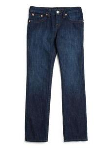 True Religion Boy's Geno Slim-Fit Cotton Jeans