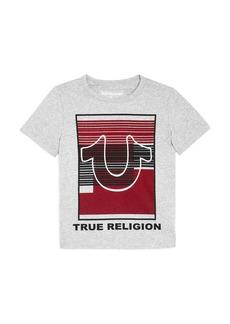 True Religion Boys' Liner Logo Tee - Little Kid, Big Kid