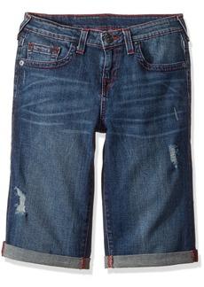 True Religion Boys' Little Geno Five Pocket Short