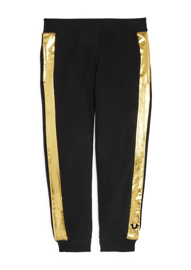 True Religion Boys' Metallic-Stripe Sweatpants - Little Kid, Big Kid