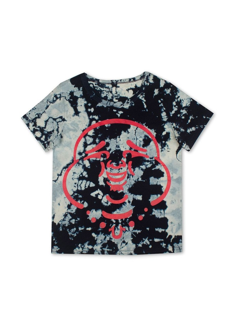 True Religion Boys' Mineral Wash Buddha Graphic Tee - Sizes S-XL