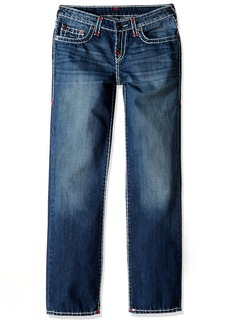 True Religion Boys' Ricky Contrast Super T Jeans
