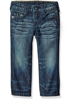 True Religion Boys' Toddler Geno Single End Jeans