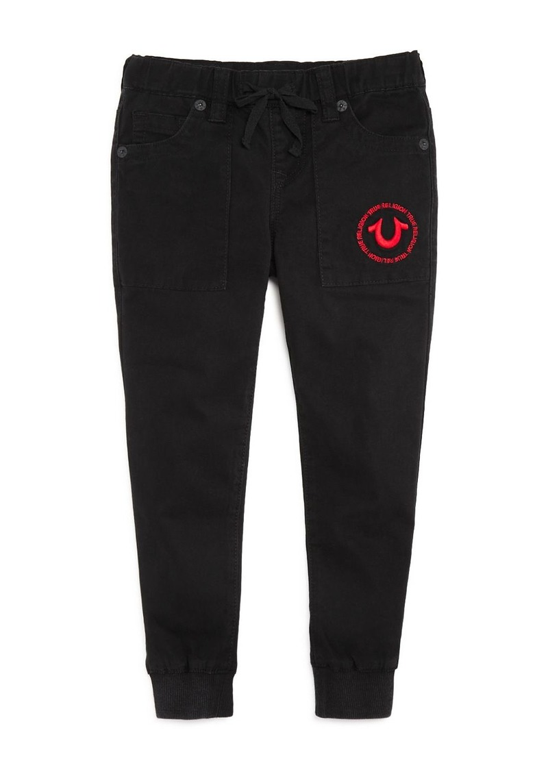 True Religion Boys' Twill Jogger Pants - Little Kid, Big Kid