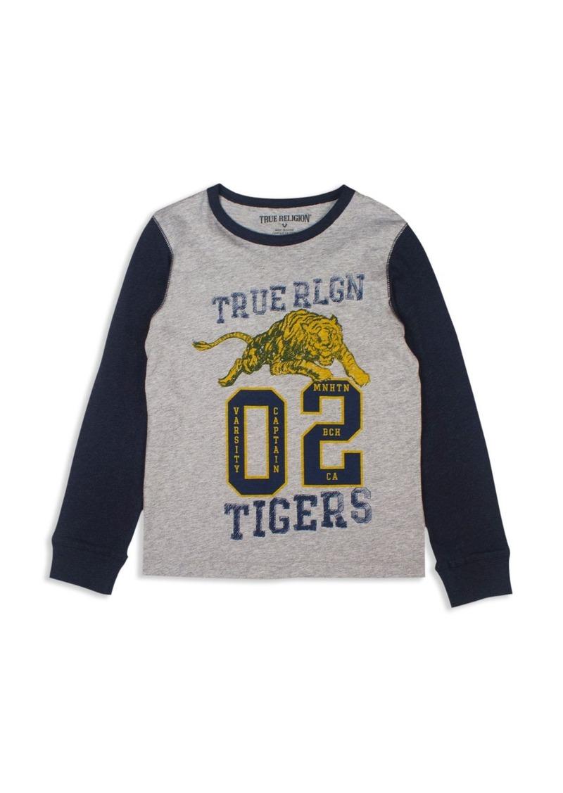True Religion Boys' Varsity Tiger Tee - Big Kid