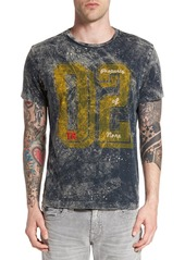 True Religion Brand Jeans '02' Dyed Graphic T-Shirt