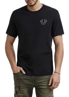 True Religion Brand Jeans Barbed Wire Logo T-Shirt