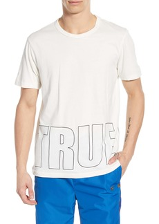 True Religion Brand Jeans Brick Logo Graphic T-Shirt