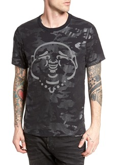 True Religion Brand Jeans Buddha Graphic T-Shirt