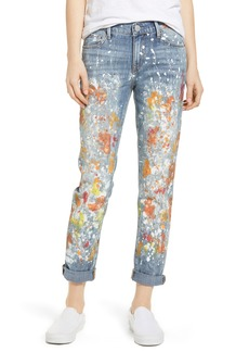 True Religion Brand Jeans Cameron Slim Boyfriend Jeans (Pop Art)