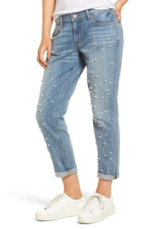 True Religion Brand Jeans Cameron Slim Boyfriend Jeans (Slip Away)