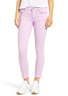 True Religion Brand Jeans Casey Crop Fray Jeans (Wisteria)