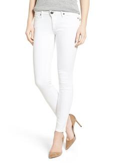 True Religion Brand Jeans Casey Skinny Jeans (Optic White)