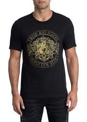 True Religion Brand Jeans Class Crest Cotton T-Shirt