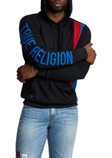 True Religion Brand Jeans Colorblock Pullover Hoodie