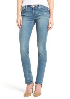 True Religion Brand Jeans Cora Straight Leg Jeans (Gypset Blue)