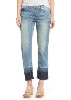 True Religion Brand Jeans Crop Straight Leg Jeans (Moondance)