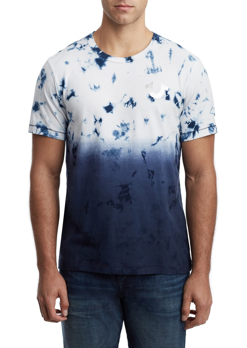 True Religion Brand Jeans Crystal Wash Horseshoe T-Shirt