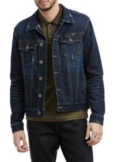 True Religion Brand Jeans Danny Denim Jacket (Dark Tunnel)