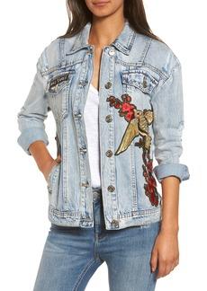 True Religion Brand Jeans Denim Trucker Jacket