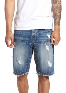 True Religion Brand Jeans Field Shorts (Worn Glen)