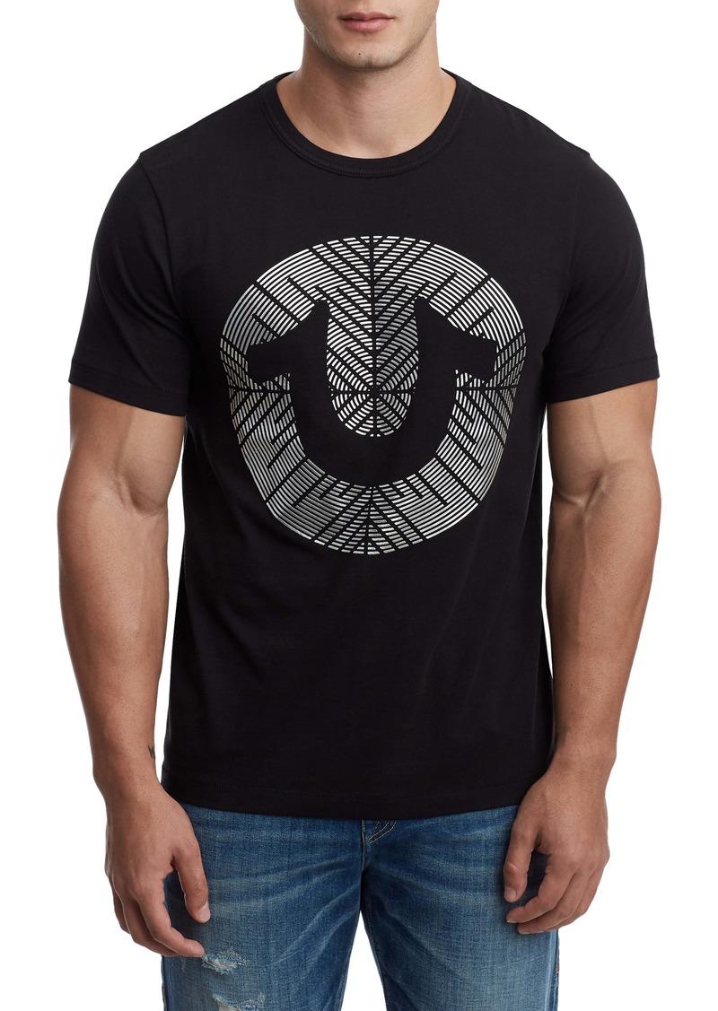 True Religion Brand Jeans Gel Horseshoe T-Shirt