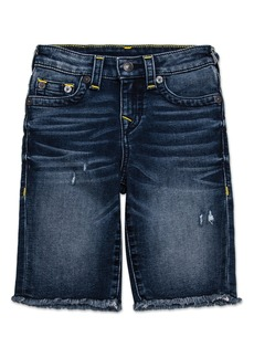 True Religion Brand Jeans Geno Cutoff Denim Shorts (Big Boys)