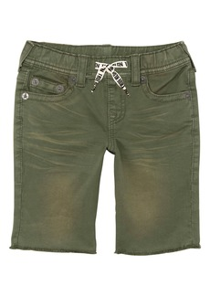 True Religion Brand Jeans Geno French Terry Shorts (Toddler Boys, Little Boys & Big Boys)