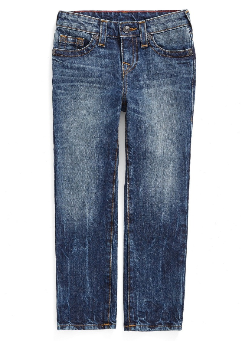 True Religion Brand Jeans 'Geno Single End' Relaxed Slim Fit Jeans (Big Boys)