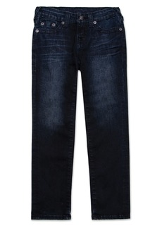 True Religion Brand Jeans Geno Single End Straight Leg Jeans (Toddler Boys & Little Boys)
