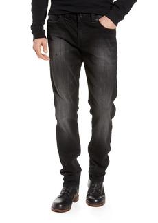 True Religion Brand Jeans Geno Straight Leg Jeans (FPIB Midnight Starfall)
