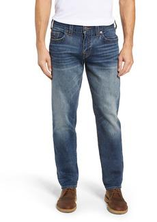 True Religion Brand Jeans Geno Slim Straight Leg Jeans (Jetset Blue)