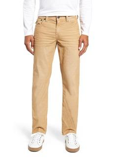 True Religion Brand Jeans Geno Slim Straight Leg Jeans (Straw)