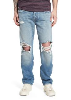 True Religion Brand Jeans Geno Straight Leg Jeans (Delinquent)