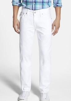 True Religion Brand Jeans 'Geno' Straight Leg Jeans (Optic White)
