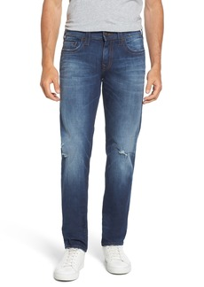 True Religion Brand Jeans Geno Straight Leg Jeans (Suspect)