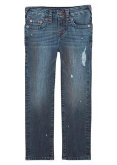 True Religion Brand Jeans Geno Straight Leg Jeans (Toddler Boys & Little Boys)