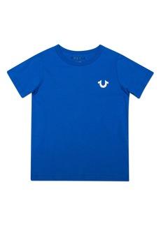 True Religion Brand Jeans Gold Buddha Logo T-Shirt (Toddler, Little Boy & Big Boy)