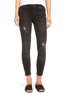 True Religion Brand Jeans Halle Ankle Skinny Jeans (Ripped Pepper)