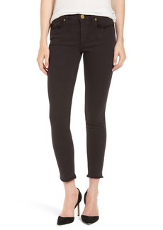 True Religion Brand Jeans 'Halle' Frayed Ankle Skinny Jeans