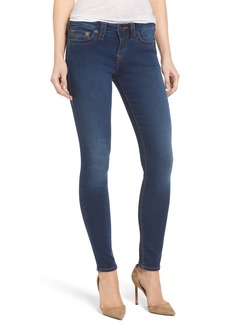 True Religion Brand Jeans Halle Mid Rise Skinny Jeans (Lands End Indigo)