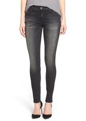 True Religion Brand Jeans 'Halle' Skinny Jeans (Authentic Black)