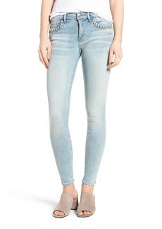 True Religion Brand Jeans Halle Super Skinny Jeans (Cloud Nine)