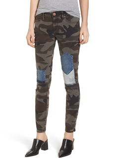True Religion Brand Jeans Halle Super Skinny Jeans (Cobalt Camo)