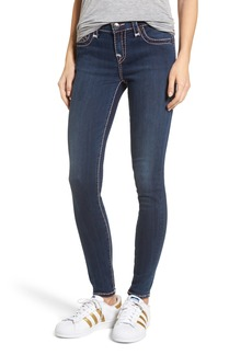 True Religion Brand Jeans Halle Super Skinny Jeans (Deep Sea Blue)