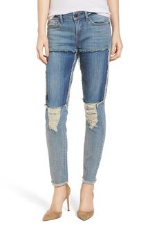 True Religion Brand Jeans Halle Super Skinny Jeans (Double Digit Blue)