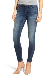 True Religion Brand Jeans Halle Super Skinny Jeans (Oceania Blue)
