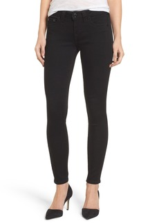 True Religion Brand Jeans Halle Super Skinny Jeans (Way Back Black)